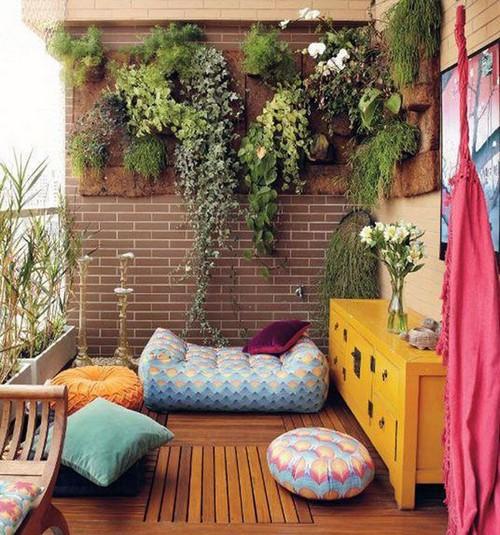 Ý tưởng trang trí ban công nhà chung cư