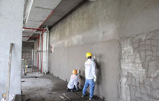 Dóc trát hoàn thiện tường