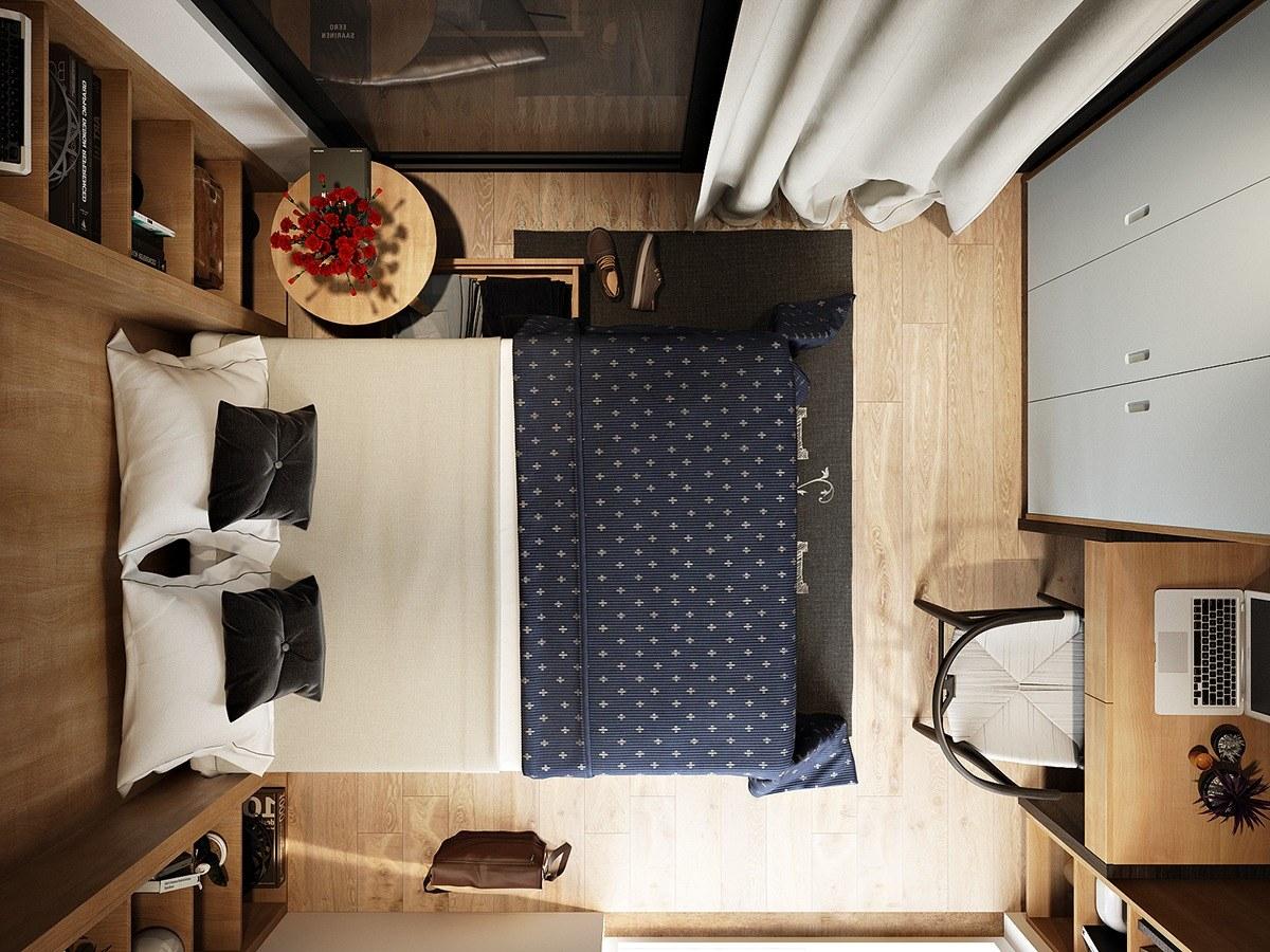 Những mẫu phòng ngủ nhỏ đẹp 2016