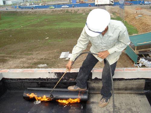 Phương pháp chống thấm sàn mái hiệu quả