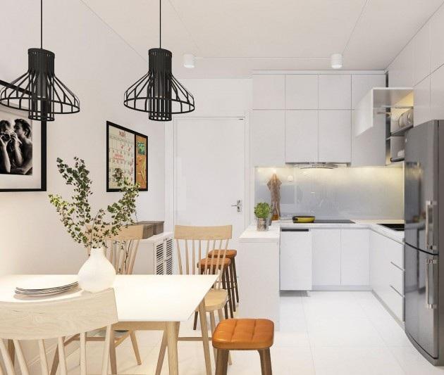 Thiết kế thi công nội thất căn hộ chung cư Homecity