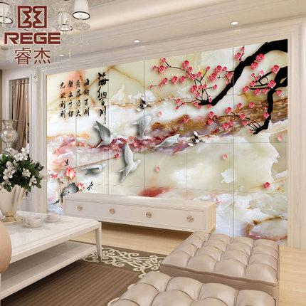 66 mẫu gạch tranh 3D đẹp trang trí nhà cho bạn