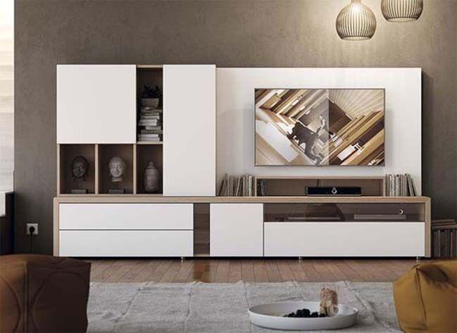 56 mẫu kệ tivi mới nhất bằng gỗ tự nhiên giá rẻ cho phòng khách hiện